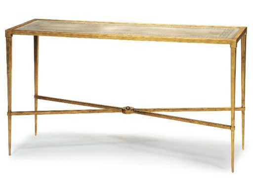 Galerie Console Table manufactured by Schumacher.