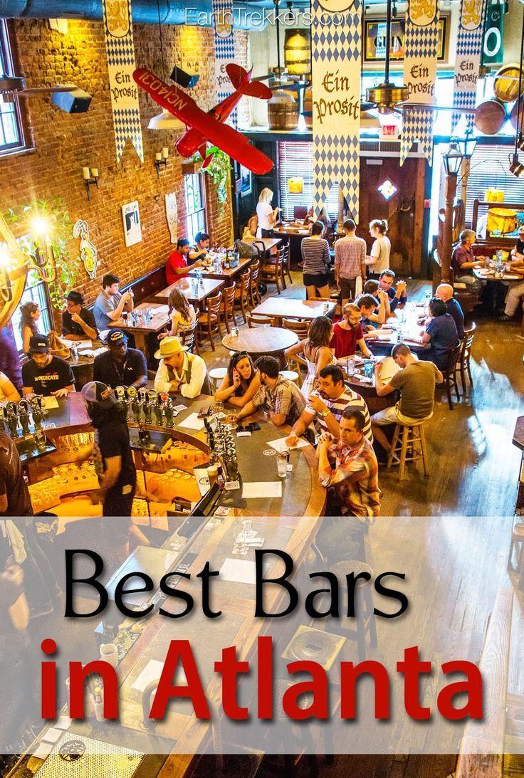 A Tour of Atlanta's Best Bars Atlanta travel, Atlanta