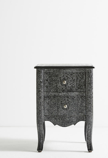 Black Metal Bedside Tables: The Best Items From Anthropologie's HUGE Home Sale
