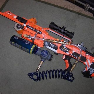 Crazy Modified Nerf Gun Can Hold Over 100 Rounds Of Ammo At One Time nerf3