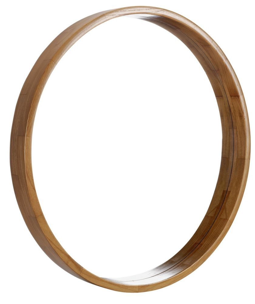 Buy Heart of House Holt Deep Round Wall Mirror - Oak Effect at Argos.co.uk - Your Online Shop for Mirrors.