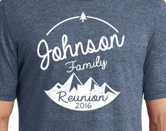 family reunion shirt etsy
