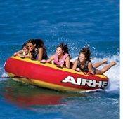 Airhead AHSSL-4 Mega Slice 4 Person Boat Towable Deck Tube