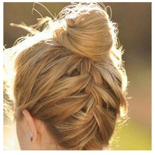 #hair cute up-do