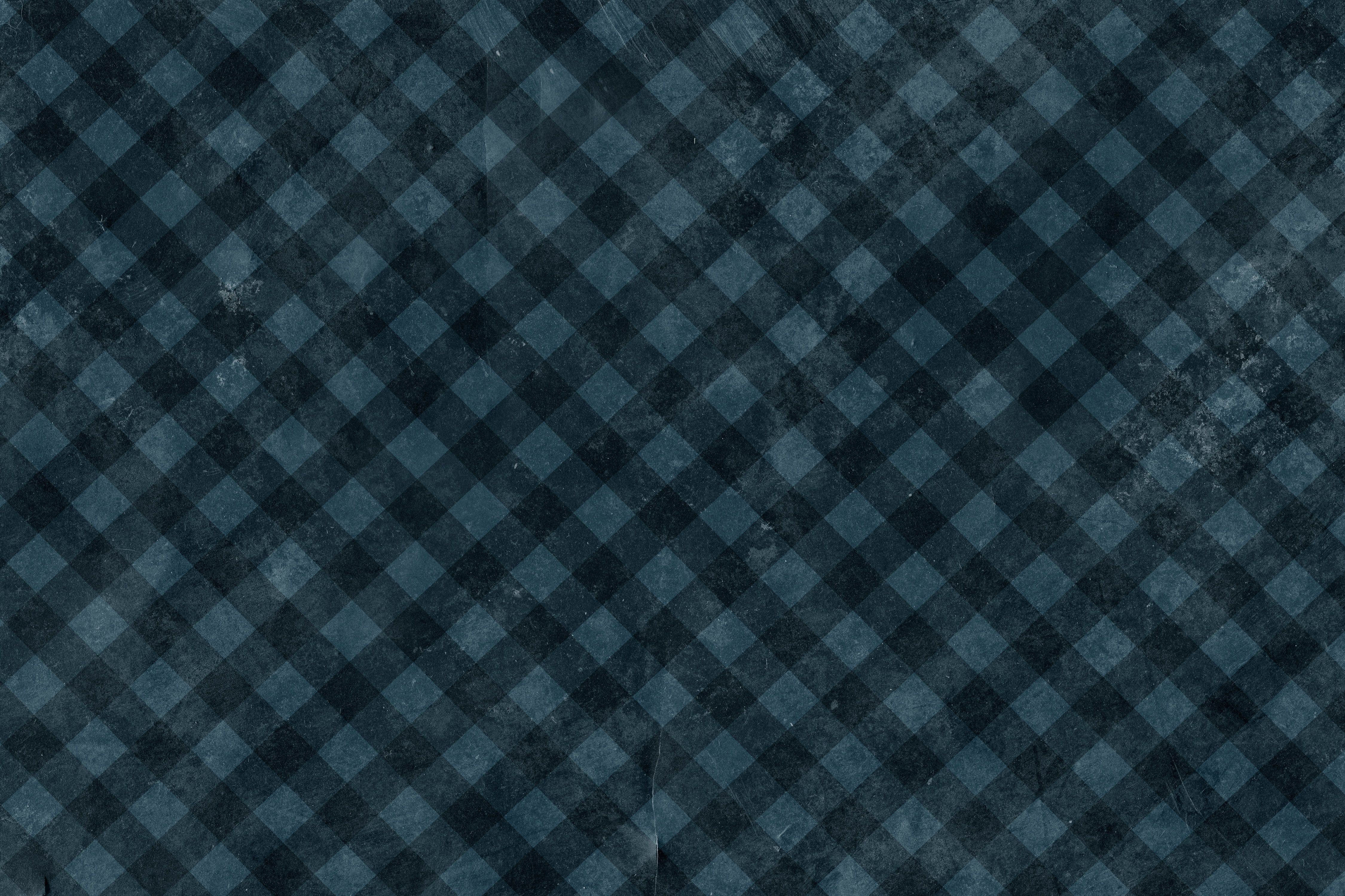 Free Diagonal Blue Checkered Grunge Texture Texture  L+T