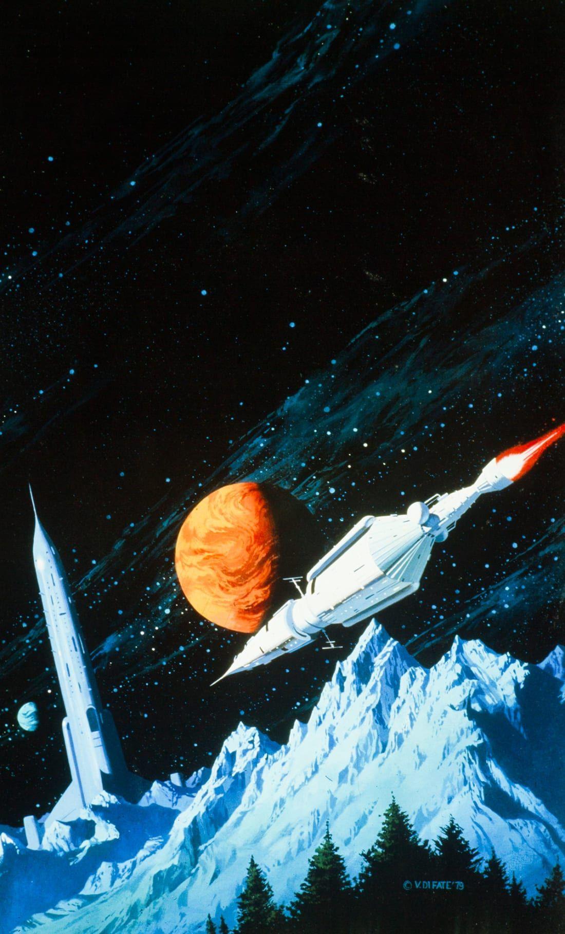 Stunning Sci Fi Art Spaceships Sci Fi Wallpaper Sci Fi Art 70s Sci Fi Art