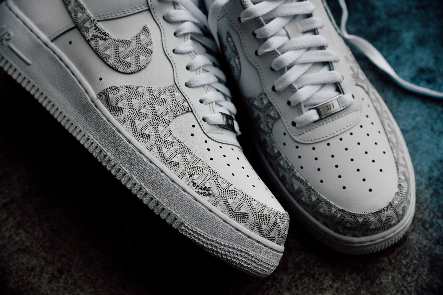 61fb40423c25c These Supreme Stan Smiths and Goyard Air Force 1s Are Worthy Customs ...