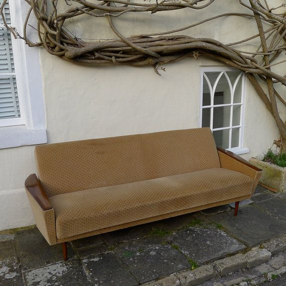 VINTAGE SOFA Day Bed Retro 50s 60s 70s MidCENTURY by LiberoandCo, £500.00