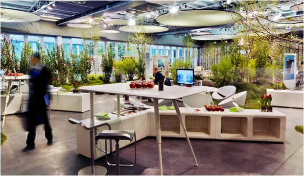 greenery office interiors. The Future Of Office Is Fun: Architecture + Workspace - Architizer Greenery Interiors