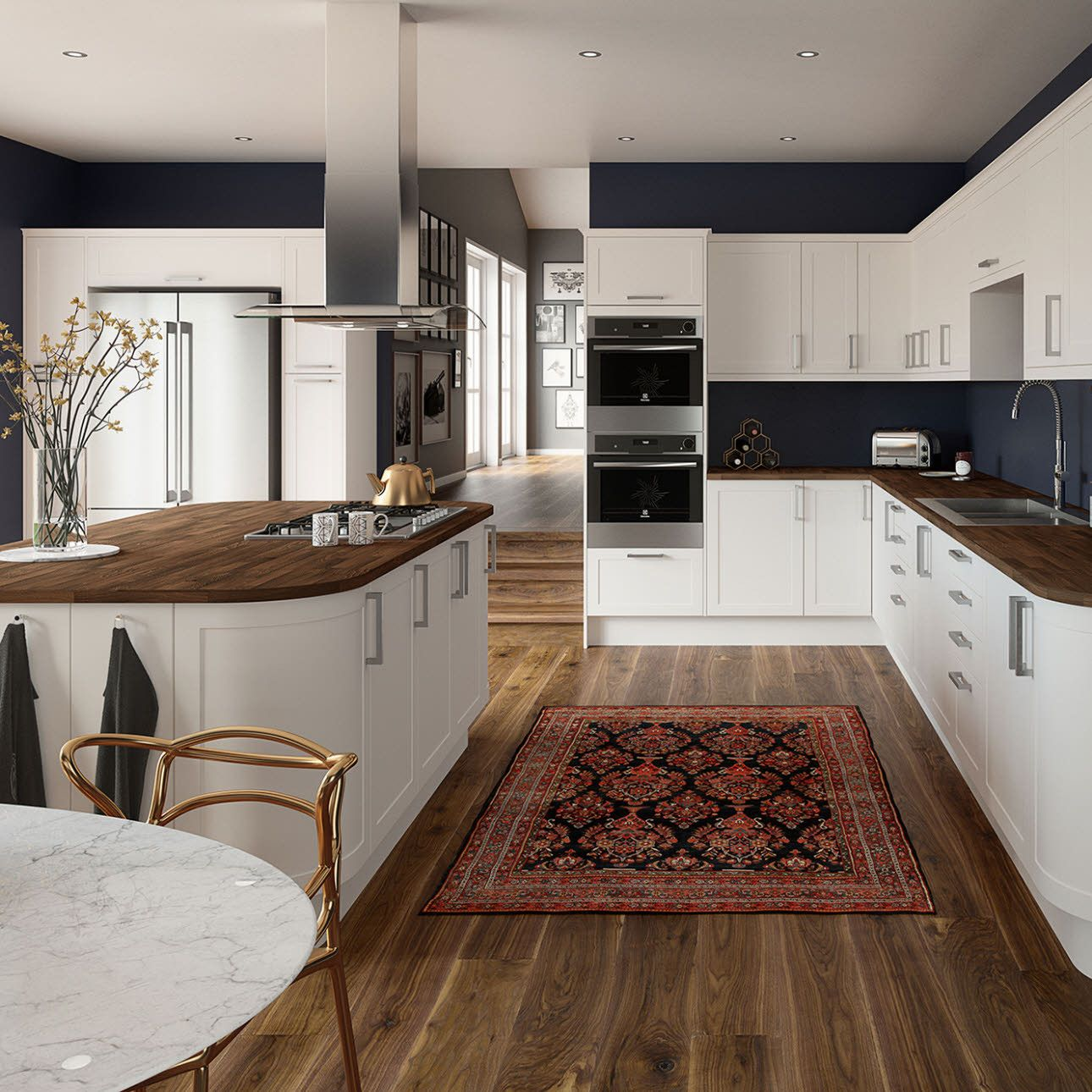 kitchen designs with white cabinet on a budget to white