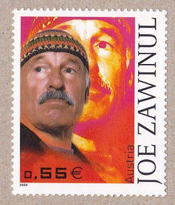 Jazz Stamps Joe Zawinul 1932 2007 Austria 2004 Jazz
