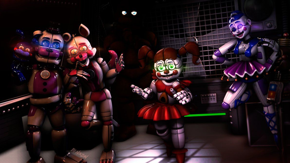 SFM/FNAF/Sister Location] New time  by NikzonKrauser