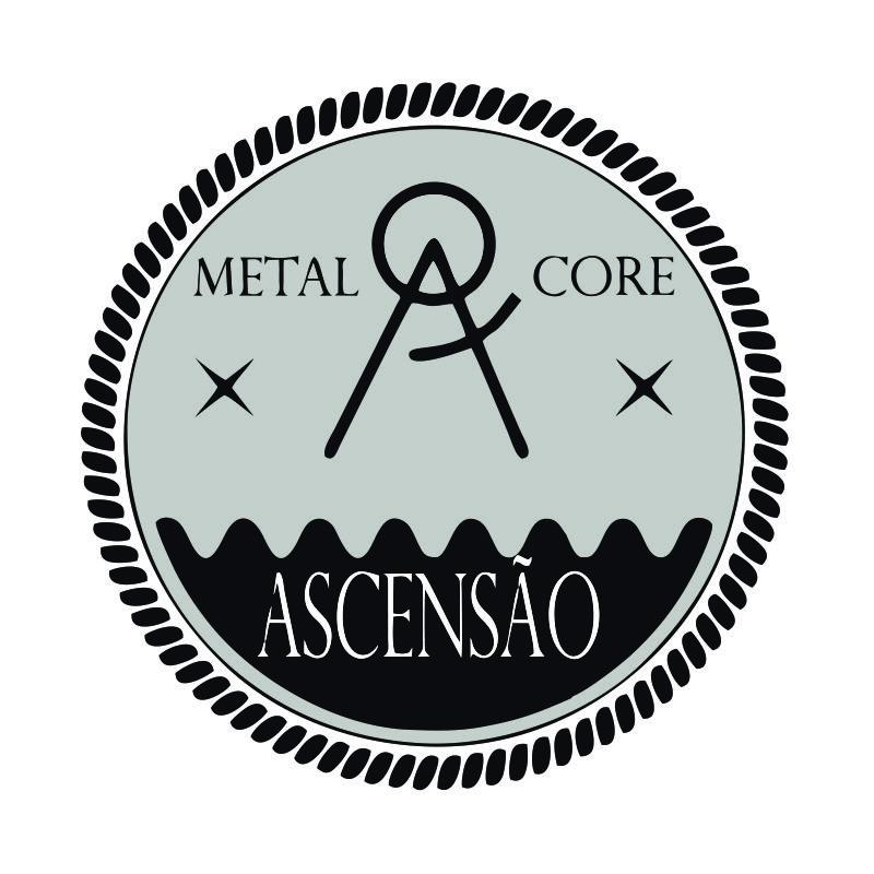 Criação de logotipo p/ a banda de Metalcore #ASCENSÃOConheça a banda ->https://goo.gl/KWO71Z  #metalcore #design #logotipo #band #alternative #hardcore #sp #music #crie #underground  underlogo.tumblr.com