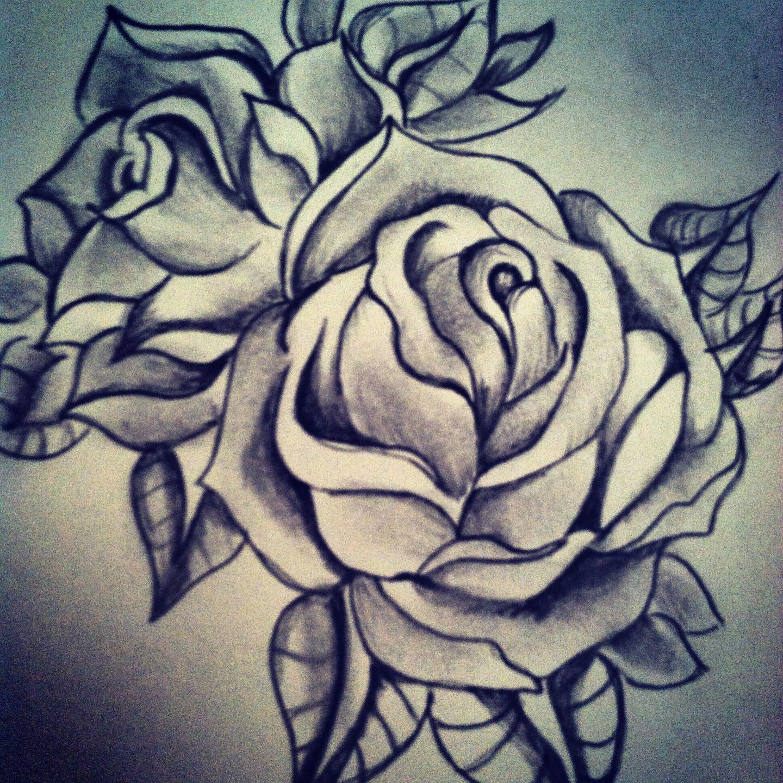 Tattoo Idea Rose Tattoo Design Tattoos Rip Tattoo