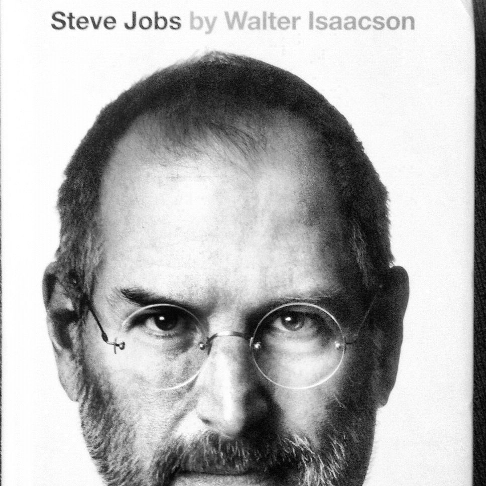 Finally i got it ! Can't wait to read. #stevejobs #apple