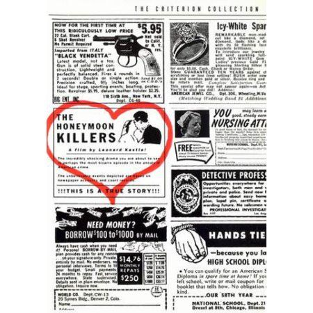 The Honeymoon Killers   Products   The criterion collection