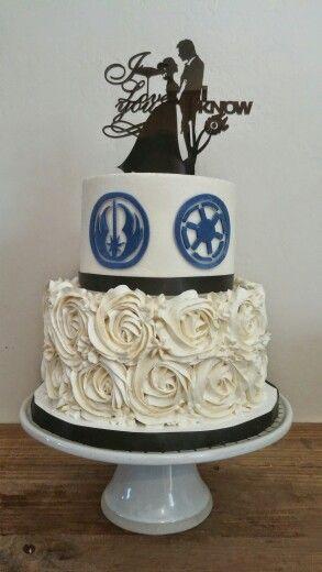 Star wars wedding cake topper cake pinterest casamento star star wars wedding cake topper junglespirit Gallery