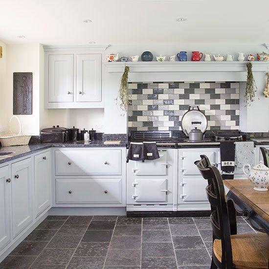 25 Absolutely Gorgeous Transitional Style Kitchen Ideas: Galley Kitchen Design, Modern
