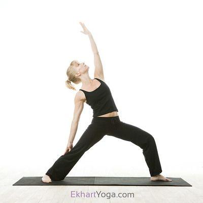 yoga pose reverse warrior pose/viparita virabhadrasana