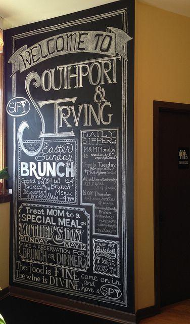 restaurant chalkboards