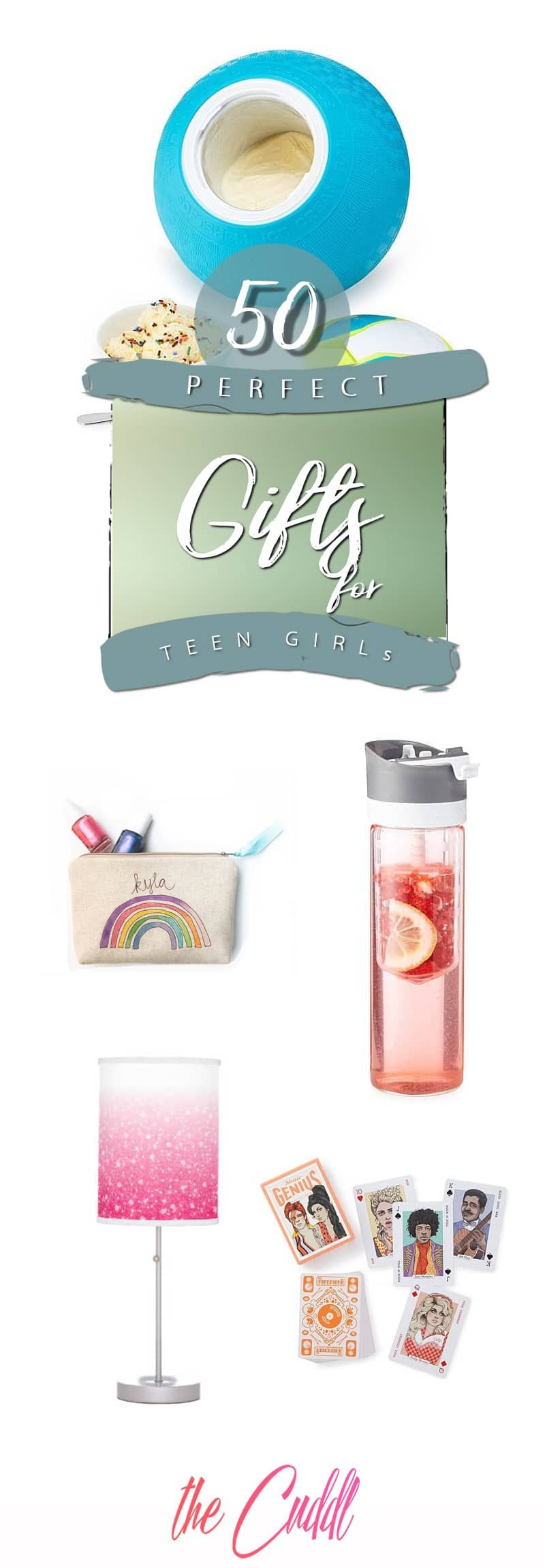 50 Best Gifts for Teenage Girls Who Have it All
