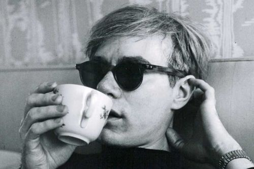Andy Warhol drink tea
