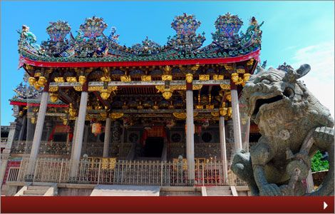 The famous Khoo Kongsi clanhouse   Heritage Buildings   Heritage