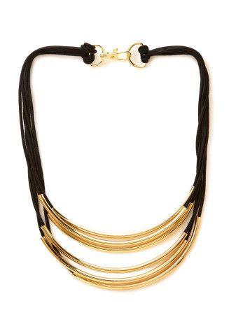 Futuristic Layered Rope Necklace