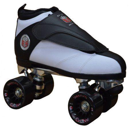 Skates For Sale >> Epic Evolution White Quad Speed Skates Products Speed Skates