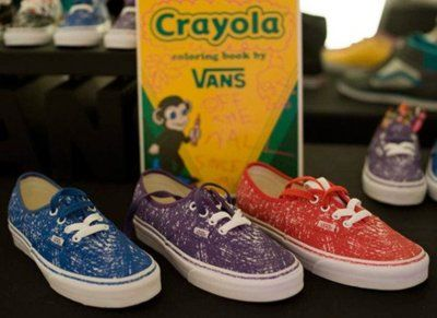 Crayola vans crayola extravaganza pinterest vans and nice crayola vans do it yourself ideascrayon ideasvan shoeseclectic solutioingenieria Gallery