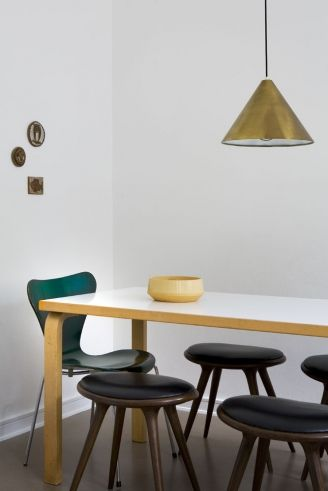 Tanja & Ulrik home, graphic designer and artist, Copenhagen