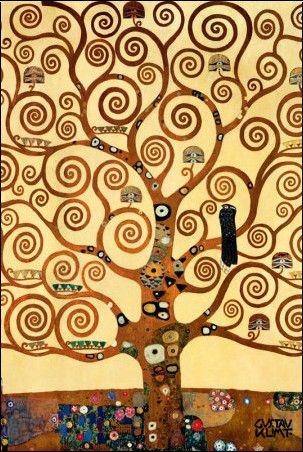 L'arbre De Vie De Klimt : l'arbre, klimt, L'arbre, Gustav, Klimt, Paintings,