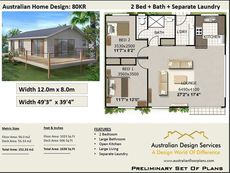1033 sq feet 96 m2 small house plan small home