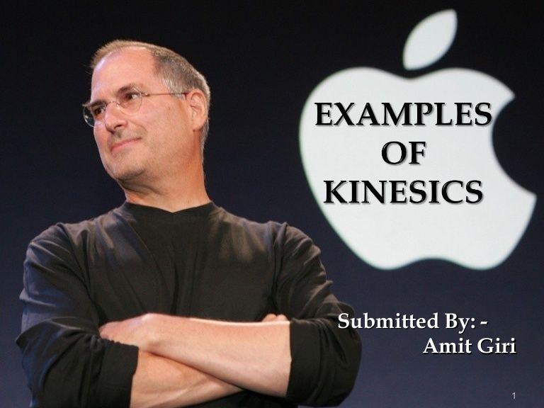 Examples of Kinesics