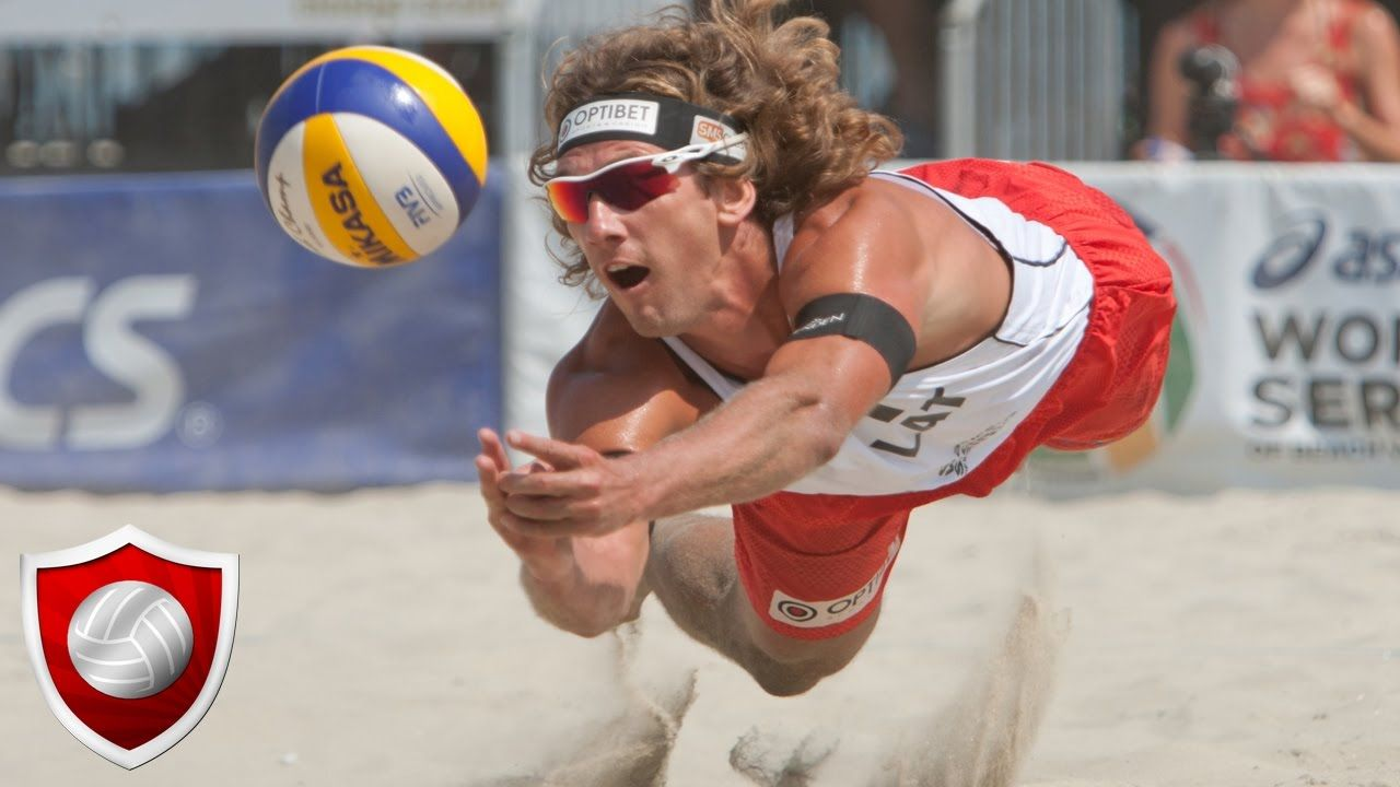 Men S Beach Volleyball You Can Watch More Videos Of Men S Beach Volleyball Over The World At Here Men Beach Beach Volleyball Volleyball