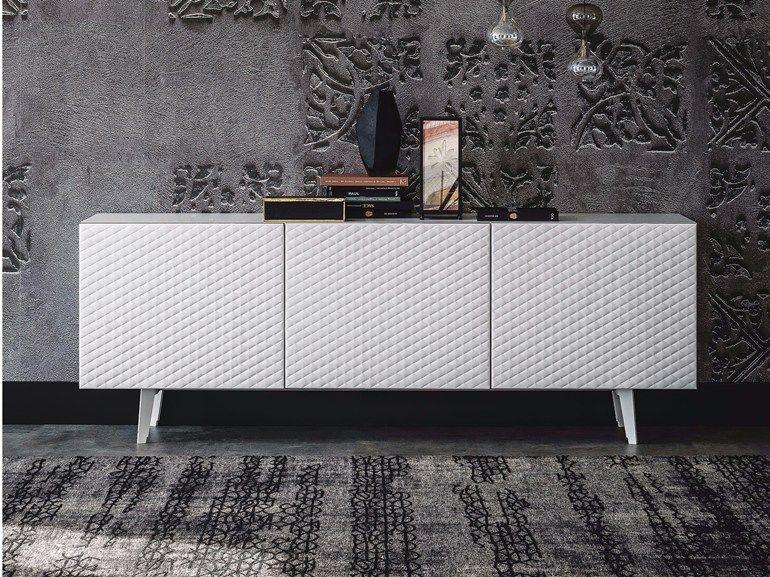 buffet en bois avec portes absolut by cattelan italia ... - Credenza Moderna Due Cassetti Horizon Cattelan