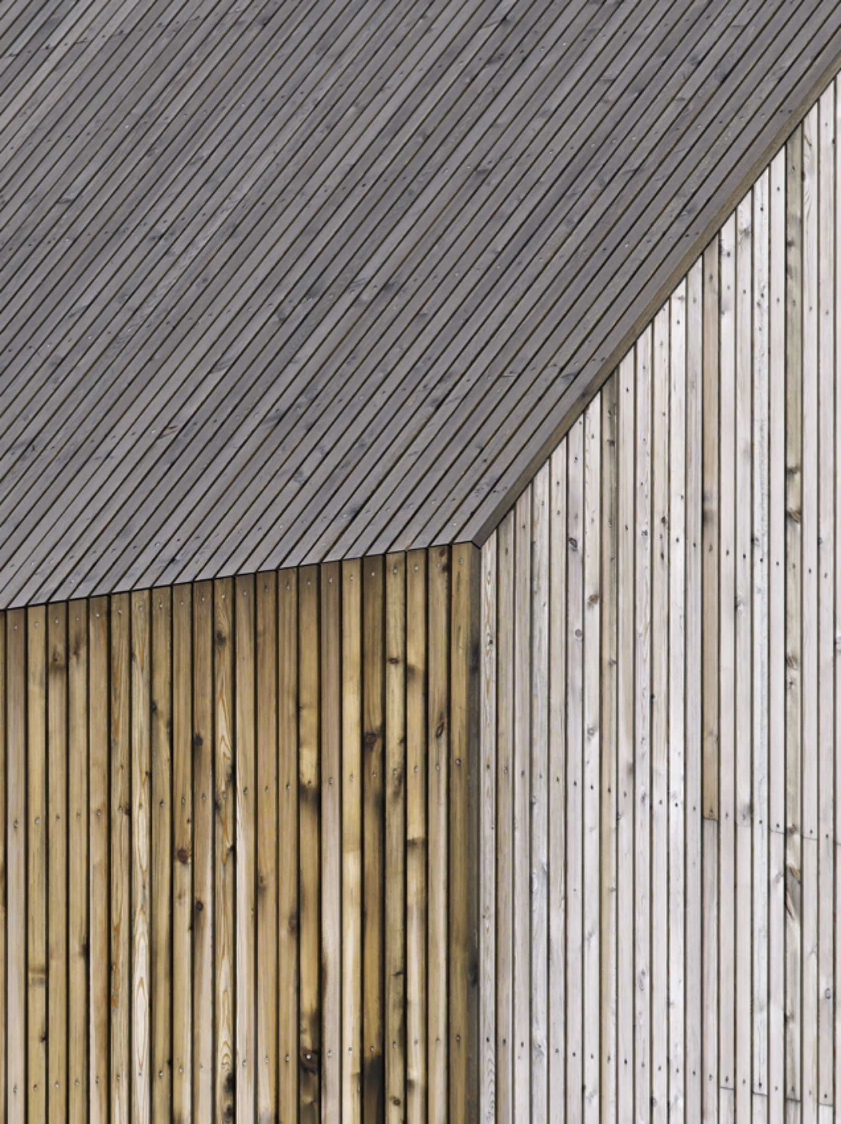 Haus für Sechs | zmora | Pinterest | Cladding, Timber cladding and ...