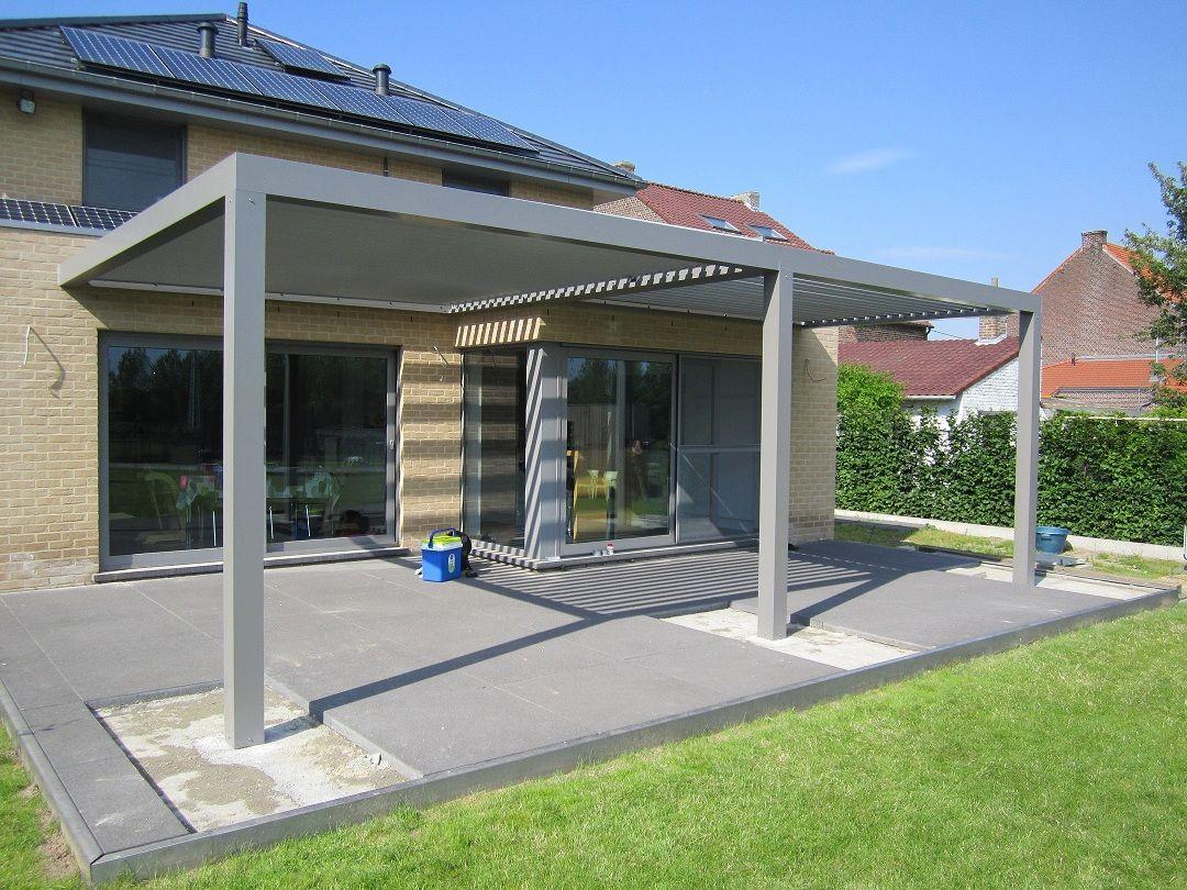 biossun benelux project terrasoverkapping pergola couverture de
