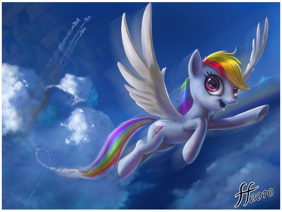 Rainbow Dash by 14-bis deviantart com | My Little Pony