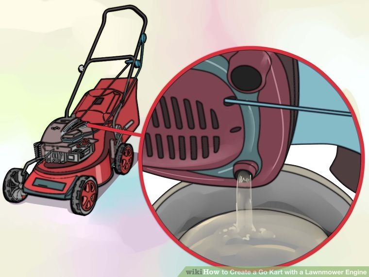 how to build a mini bike with lawn mower engine