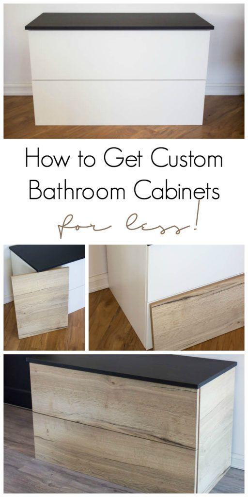 Best One Room Challenge Week 4 Custom Bathroom Cabinets For 400 x 300