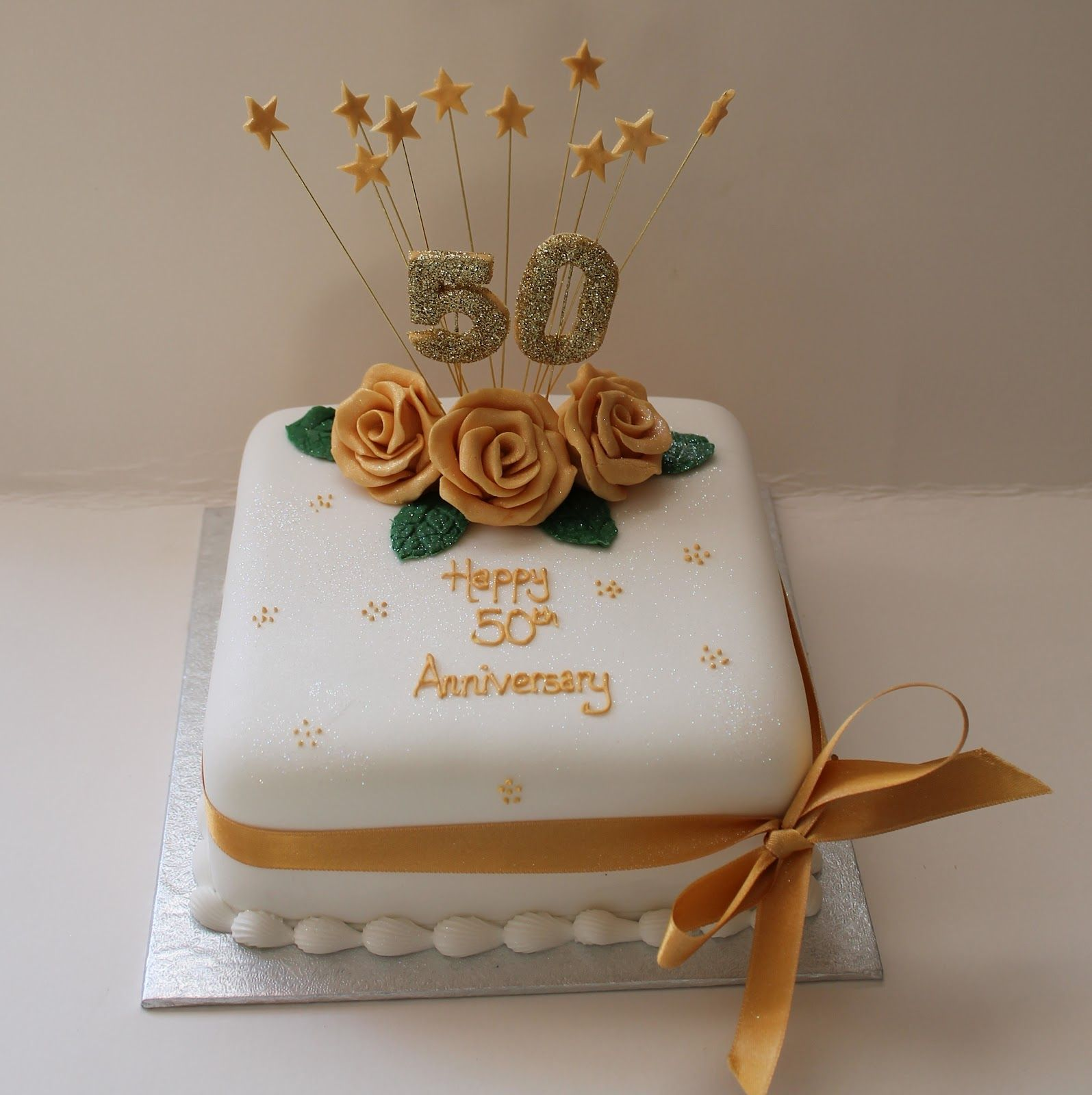 Best 50th wedding anniversary cakes http mycakedecors for Anniversary cake decoration