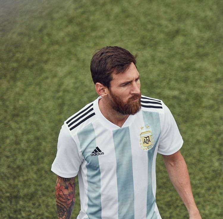 02147c87189 Argentina 2018 FIFA World Cup Home Kit