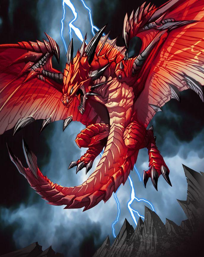 tatoo dragon rouge_54 | bestiaire fantasy (créatures de l'univers