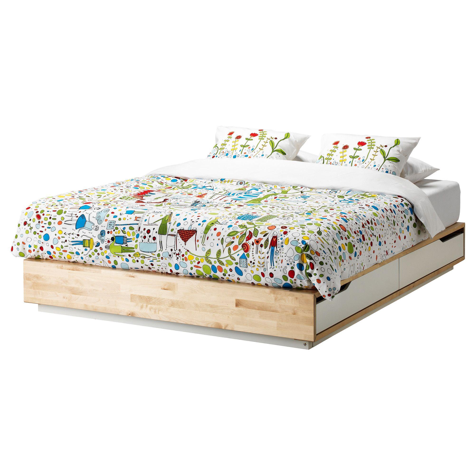 MANDAL Estructura cama - 160x202 cm - IKEA | Decoración | Pinterest ...