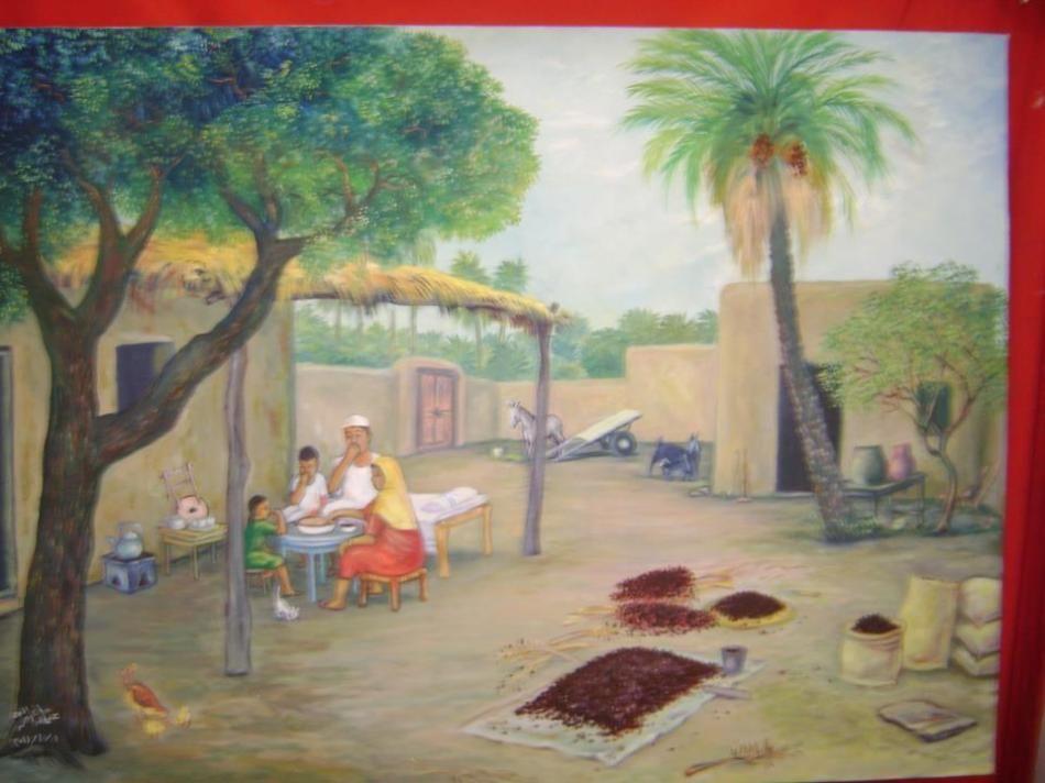اعمال التشكيلي عثمان عوض الله حسين موسوعة التوثيق الشامل Painting Art Painter