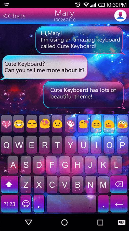 Color Galaxy Emoji Keyboard Emoji Keyboard Keyboard Galaxy