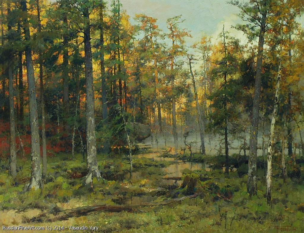 Swamp - oil, canvas, Yuri Vasendin