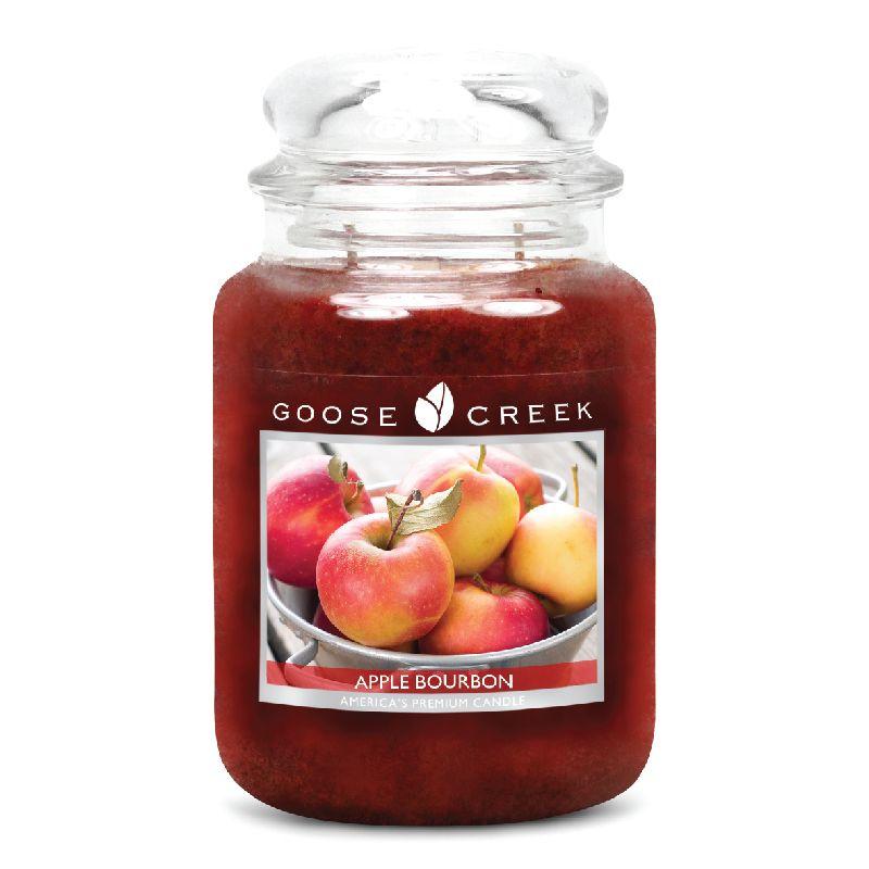 Apple bourbon large jar candle aromas perfume perfumar
