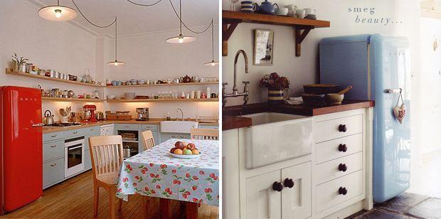 pour une d co style fifties choisissez un frigo design smeg interior design pinterest. Black Bedroom Furniture Sets. Home Design Ideas